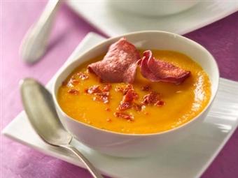 Sopa de Cenoura e Gengibre. Alimentam e ajudam-nos a controlar o apetite e o consumo de calorias.
