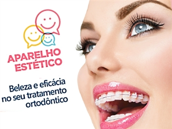 Aparelho Dentário Estético na Clínica Médica Dentária na Trindade, no Porto por APENAS 19€.