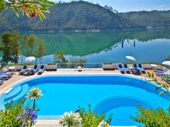 Estalagem Lago Azul 4*: Estadia com Pequeno-almoço e Cruzeiro com almoço a Bordo desde 89€. Venha conhecer Ferreira do Zêzere!