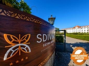 SDIVINE FÁTIMA HOTEL - 1 ou 2 Noites com Meia Pensão e Visita às Grutas da Moeda desde 47.50€.