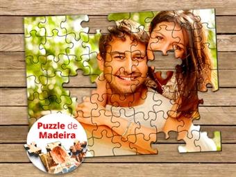 PUZZLES de MADEIRA com Caixa: 30, 60 ou 120 Peças Personalizados com Fotografias ou Imagens Preferidas desde 13€.