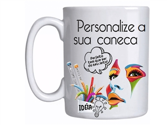 CANECA PERSONALIZADA com Caixa. Personalize com Fotografias, Imagens ou Mensagens por 9€. Um Presente Original!