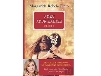 """Livro """"O Meu Amor Existe"""" de Margarida Rebelo Pinto com histórias de uma paixão inesquecível. Portes Incluídos."""