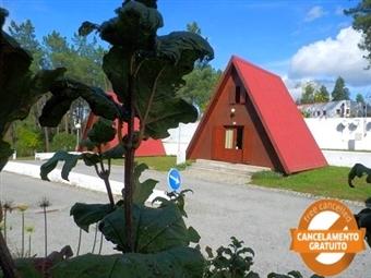 Camping Luso: Estadia em Bungalow de Madeira na Serra do Buçaco por 25.50€.Momentos Perfeitos no meio da Natureza!