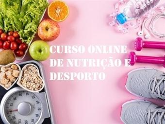 Curso Online de Nutrição e Desporto com a Sociedade Digital   E-Learning 60 Dias por 23€.
