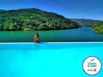 Douro Royal Valley Hotel 5*: Estadia com Pequeno-almoço, Jantar e Massagem desde 166€. Relaxe a Dois!