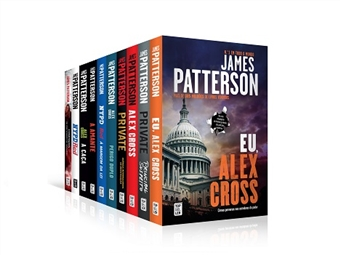 Fantástica coleção de 10 livros de James Patterson, considerado o autor nº 1 no mundo. Adquira a coleção completa ou os livros individuais. Portes incluídos.