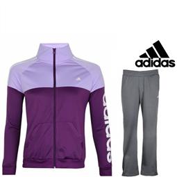 Adidas® Fato de Treino Lilás - XS por 52.14€ PORTES INCLUÍDOS