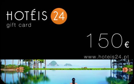 Ofereça um Cartão Presente do hoteis24.pt a quem mais gosta. É fácil, rápido, original e pode oferecer quantos quiser. Viajar é viver!