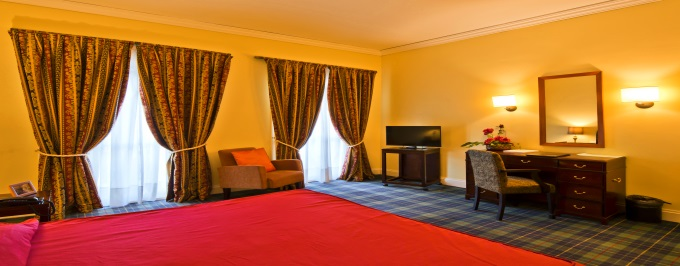 Golden Tulip Caramulo Hotel & SPA 4*: 1 noite com Pequeno-Almoço, Opção de Meia Pensão e Massagem e Acesso a SPA. Relaxe e Aproveite!