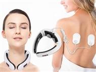 Aparelho 3D de Massagem Eletromagnética de Pescoço e Costas. PORTES INCLUÍDOS.
