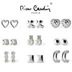 Conjunto Pierre Cardin® Crystals & Pearls   9 Pares Brincos