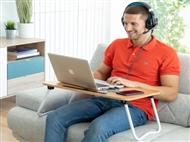Mesa Portátil Dobrável Multiusos, para comer ou trabalhar, na cama ou sofá. VER VIDEO. PORTES INCLUI