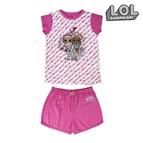 Pijama Infantil LOL Surprise! Cor de rosa 6 anos