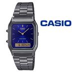 Relógio Casio®Retro Digital AQ-230EGG-2AEF Vintage EDGY