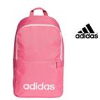 Adidas® Mochila Daily Linear Classic   Rosa