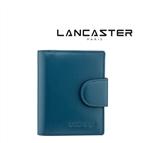 Porta Cartões Pele Lancaster Paris® Azul | PLP007