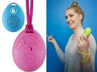 Coluna Bluetooth que Ajuda a Tirar Selfies, Atende Chamadas Mãos-Livres e tem 3 Cores à escolha.