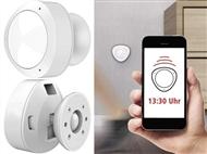 Sensor de Movimento WiFi com ligação para o seu Smartphone via APP. PORTES INCLUÍDOS.