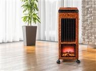 Climatizador Portátil com Frio, Calor, Ionizador, Anti-Mosquitos, Difusor de Aromas e Efeito Lareira