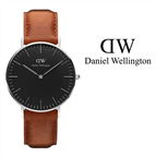 Daniel Wellington® Relógio Classic Black Durham 36 mm - DW00100144