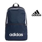 Adidas® Mochila Daily Linear Classic   Azul Escuro
