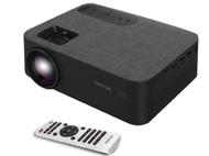 PROJETOR PORTÁTIL LED FULL HD com USB, HDMI, MicroSD, 2 Colunas e Comando.