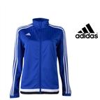 Adidas® Casaco De Treino Azul | Tecnologia Climacool® - XXL