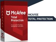 McAfee Total Protection. Dispositivos: 1, 5 ou 10. ENVIO INCLUÍDO.