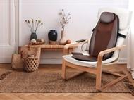 Encosto de Massagem com Comando e Função de Calor Infravermelho e Vibração. PORTES INCLUÍDOS.