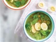 Coleção Receitas Facílimo: Sopa de feijão-verde e canónigos. Faça download da receita em eBook e áud