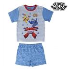Pijama de Verão para Meninos Super Wings 2 anos