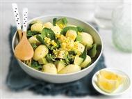 Coleção Receitas Facílimo: Salada de batata e ovo. Faça já download do eBook e áudio.