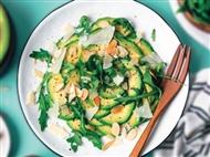 Coleção Receitas Facílimo: Salada de abacate e rúcula. Faça já download do eBook e áudio