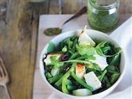 Coleção Receitas Facílimo: Salada de feijão-verde com requeijão. Faça já download do eBook
