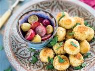 Coleção Receitas Facílimo: Almôndegas de frango com uvas salteadas. Faça já download do eBook e áudi