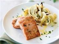 Coleção Receitas Facílimo: Lombos de salmão à chefe. Faça já download do eBook e áud
