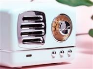 Rádio Portátil Vintage com Bluetooth, Alta Voz, USB e Leitor Micro SD. PORTES INCLUÍDOS.