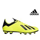 Adidas® Chuteiras X 18.4 FxG Júnior   Tamanho 28
