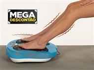 MEGA DESCONTÃO: Massajador de Pernas e Pés com Comando, 6 Programas e 15 Níveis Intensidade.