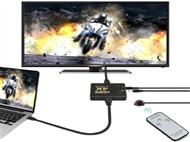Switch HDMI 4K com 3 Portas e Comando. PORTES INCLUIDOS.