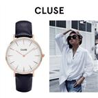 Relógio Cluse® La Bohème Rose Gold White/Blue   38MM