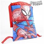 Mochila saco infantil Spiderman Azul
