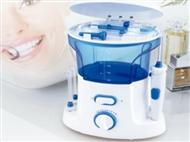 Irrigador Dental Elétrico com 10 Níveis de Pressão e 7 Bocais para uma Higiene Oral Completa.