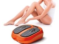 Massajador VIBRAfeet de Pernas e Pés com Comando, 3 Programas e 15 Níveis Intensidade.