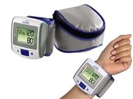 Medidor de Tensão Arterial de Pulso com Bolsa de Transporte e Pilhas. PORTES INCLUIDOS.