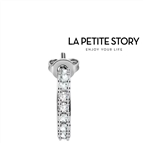 La Petit Story® Brinco Individual - LPS02ARQ24 - Com Caixa e Saco Oferta