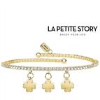 La Petit Story® Pulseira - LPS05AQC11 - Com Caixa e Saco Oferta