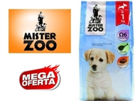 Ração Seca para Cães Júnior – Saco Mister Zoo de 1 ou 2 Kg. PORTES INCLUÍDOS.
