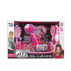Conjunto de Cabeleieiro Infantil Girl Fashion Cor de rosa 118230